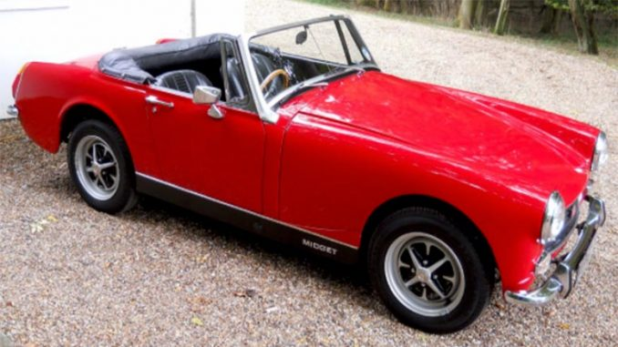 MG Midget Mark III Parts Manual
