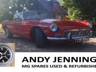 ANDY JENNINGS MG SPARES