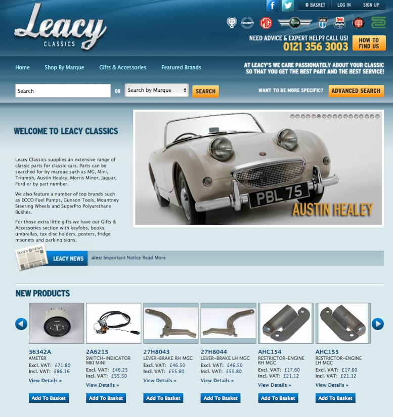 LEACY CLASSIC in SCOTTYS Supplier Library