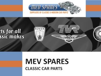 MEV SPARES on SCOTTYS Supplier Library