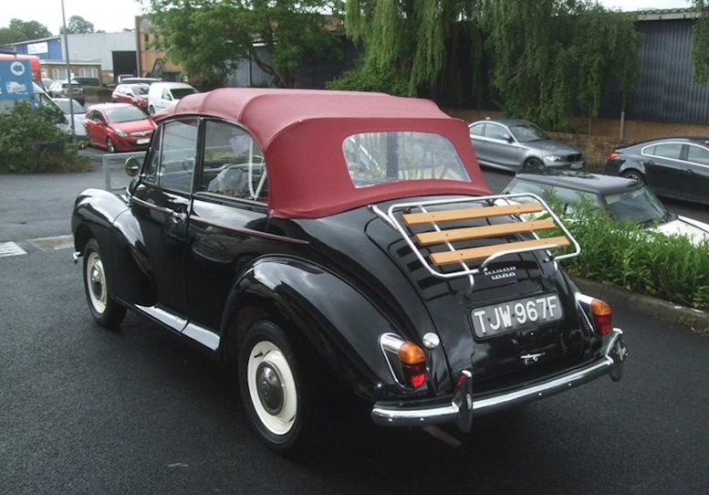 MORRIS MINOR SPARES on SCOTTYS Supplier Library