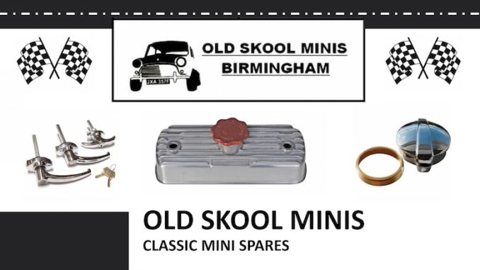 OLD SKOOL MINIS on SCOTTYS Supplier Library