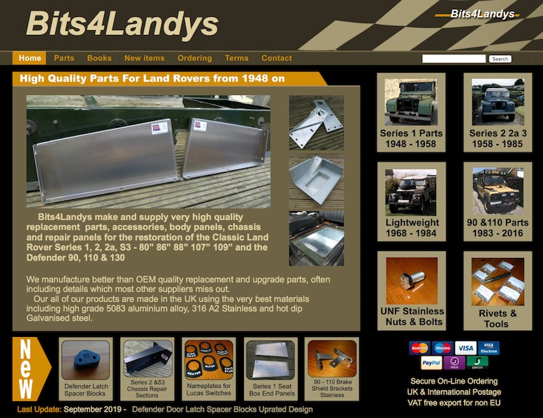 BITS4LANDYS in SCOTTYS Supplier Library