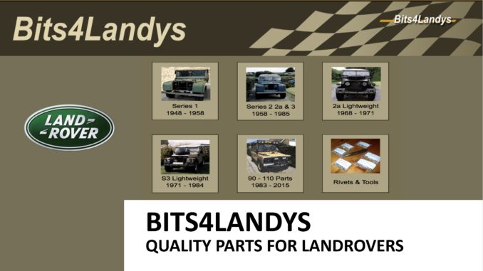 BITS4LANDYS on SCOTTYS Supplier Library