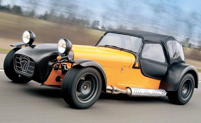 CATERHAM PARTS SUPPLIERS in SCOTTYS Supplier Library