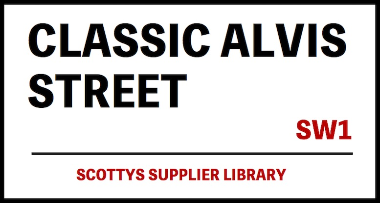 CLASSIC ALVIS PARTS SUPPLIERS in SCOTTYS Supplier Library