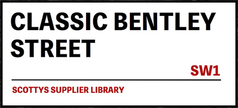 CLASSIC BENTLEY PARTS SUPPLIERS in SCOTTYS Supplier Library