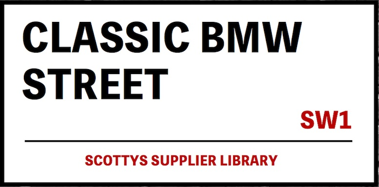 CLASSIC BMW PARTS SUPPLIERS in SCOTTYS Supplier Library