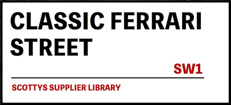 CLASSIC FERRARI PARTS SUPPLIERS