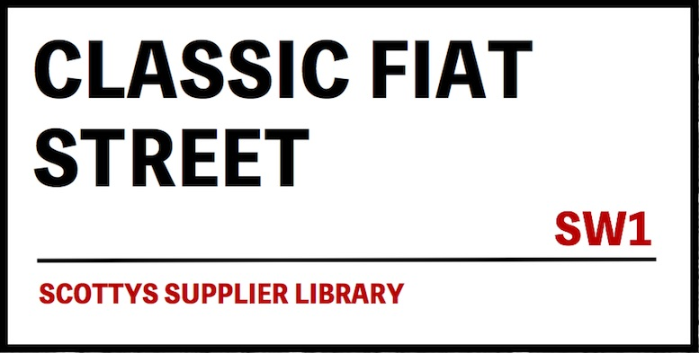 CLASSIC FIAT PARTS SUPPLIERS
