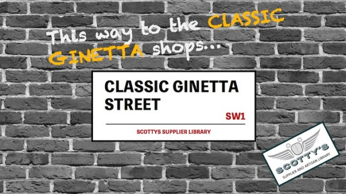 CLASSIC GINETTA PARTS SUPPLIERS