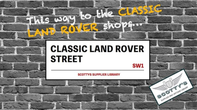 CLASSIC LAND ROVER PARTS SUPPLIERS