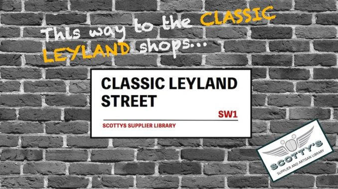 CLASSIC LEYLAND PARTS SUPPLIERS