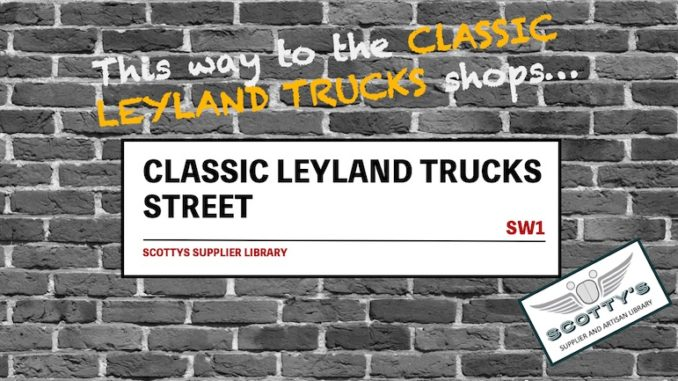 CLASSIC LEYLAND TRUCK PARTS