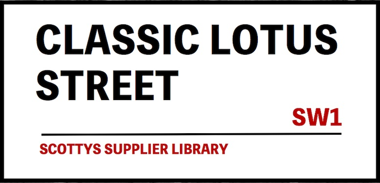 CLASSIC LOTUS PARTS SUPPLIERS