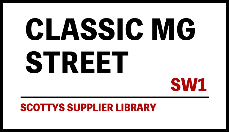 CLASSIC MG PARTS SUPPLIERS