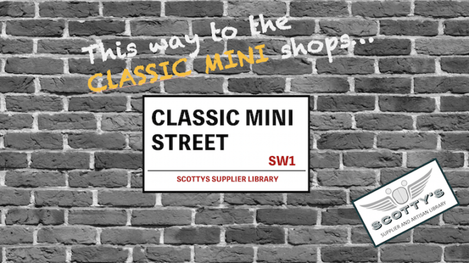 CLASSIC MINI PARTS SUPPLIERS in SCOTTYS Supplier Library