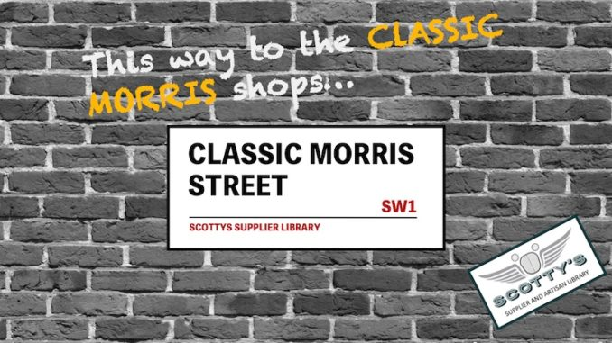 CLASSIC MORRIS PARTS SUPPLIERS