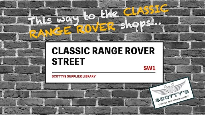 CLASSIC RANGE ROVER PARTS SUPPLIERS