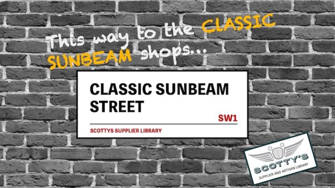 CLASSIC SUNBEAM PARTS SUPPLIERS