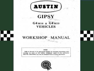 AUSTIN GIPSY WORKSHOP MANUAL