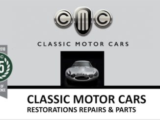 CLASSIC MOTOR CARS in SCOTTYS Supplier Library