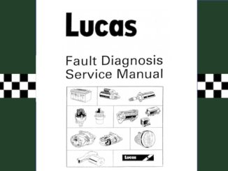 LUCAS FAULT DIAGNOSIS SERVICE MANUAL PDF 2