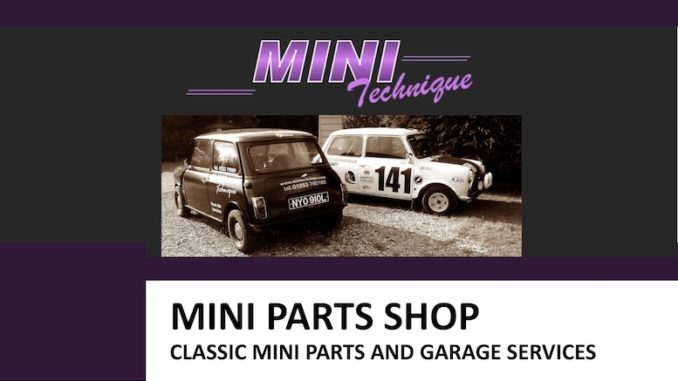 THE MINI PARTS SHOP on SCOTTYS Supplier Library