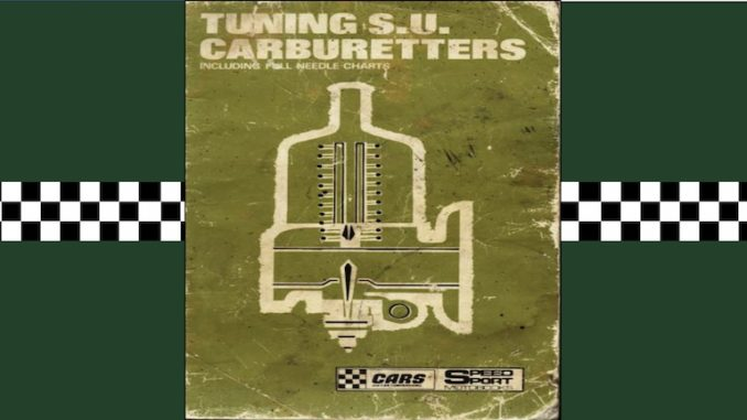 TUNING SU CARBURETTERS in SCOTTYS Techncial Library