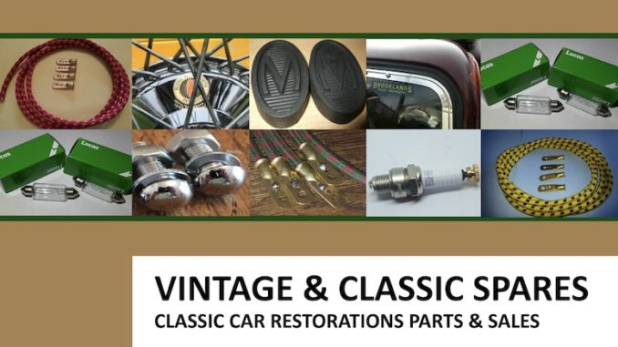 VINTAGE AND CLASSIC SPARES IN SCOTTYS Supplier Library