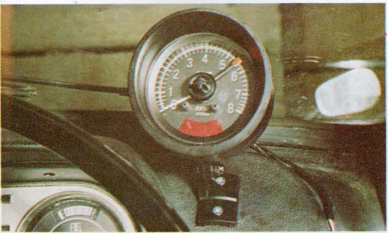 HOW TO FIT A REV COUNTER