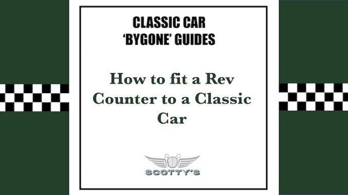 How to fit a Rev Counter img2