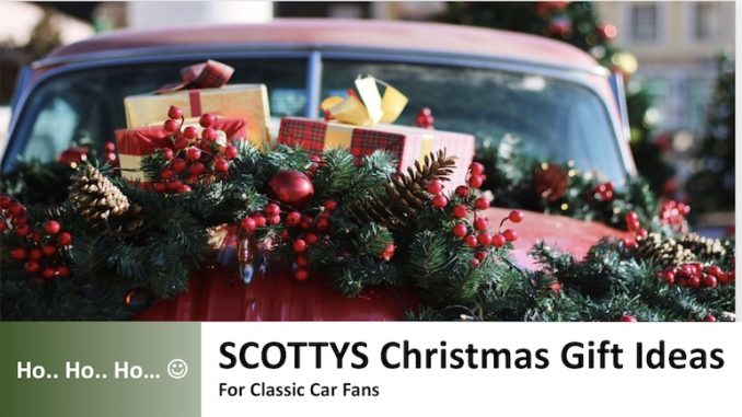 Christmas Gifts for Classic Car Fans