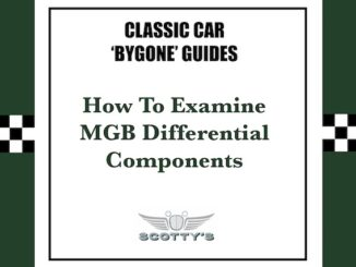 How To Examine MGB Differential Components