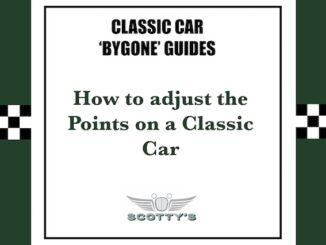 How to adjust the Points on a Classic Car