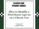 How to identify a distributor on a Classic Car