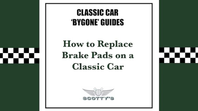 Changing Brake Pads on a Classic Ford Step III