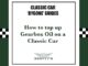How to top up gearbox oil on a classic car