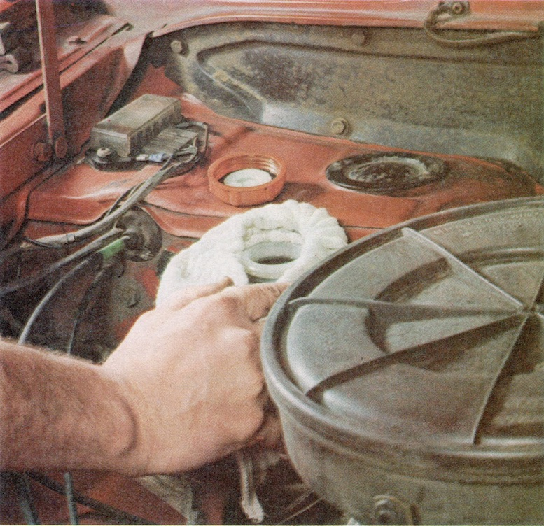 Protect Car Paintwork From Brake Fluid