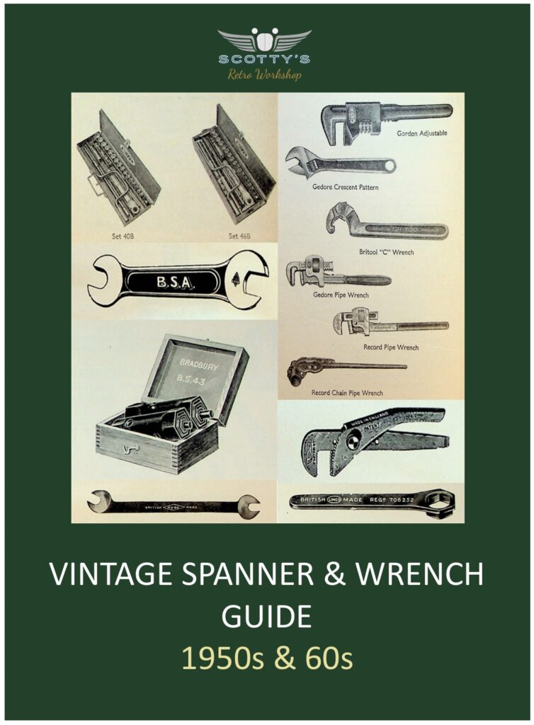 Vintage Spanner & Wrench Guide