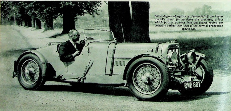 I Am Guessing That This Is H S Linfield In The BWB 887 Ulster Aston Martin