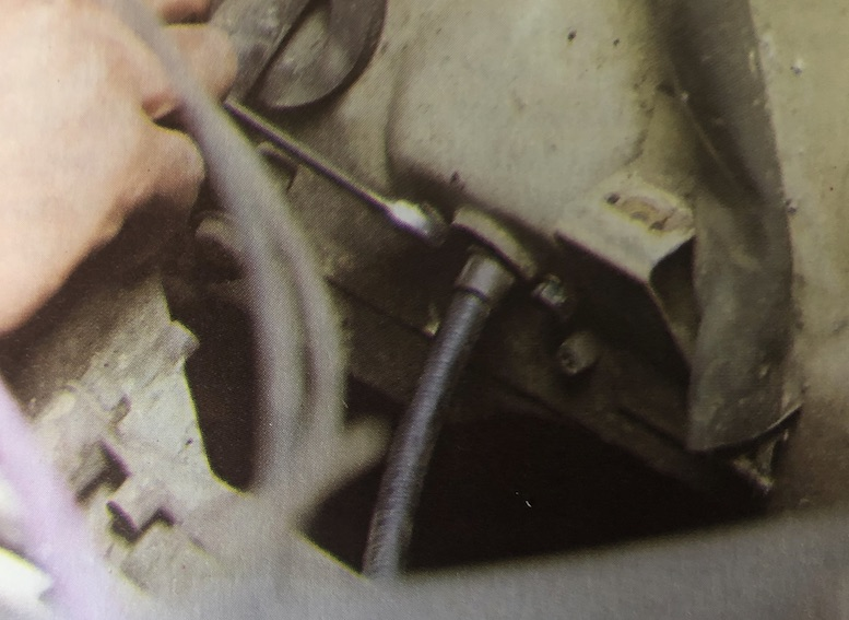 Replace An Equalising Handbrake Cable