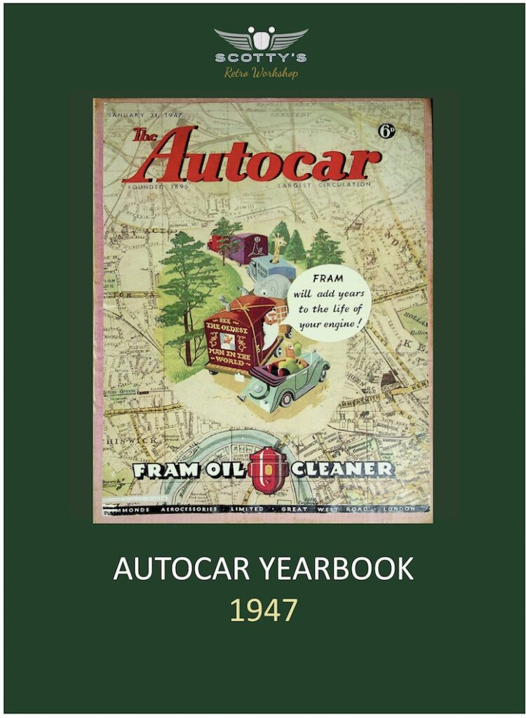 The Autocar Yearbook 1947
