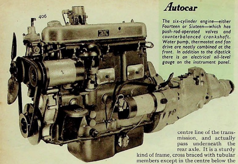 The Rover 6 Cylinder Engine