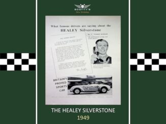 The Healey Silverstone
